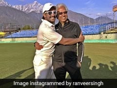 Ranveer Singh's <i>'83</i> Shades Of Work, Play, Chill With 'Champion Of Champions' Mohinder Amarnath