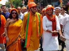 "In Kolkata, BJP's Helmet Rally To Protest Against ""Terror"""
