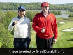 Amid Trade Talks, Donald Trump Takes Golf Buddy Shinzo Abe For Rematch
