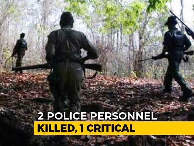 Video : 2 Cops Killed, 1 Injured In Attack By Maoists In Chhattisgarh's Bijapur