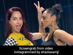 Nora Fatehi ने एक बार फिर किया धमाकेदार डांस, बार-बार देखा जा रहा Video