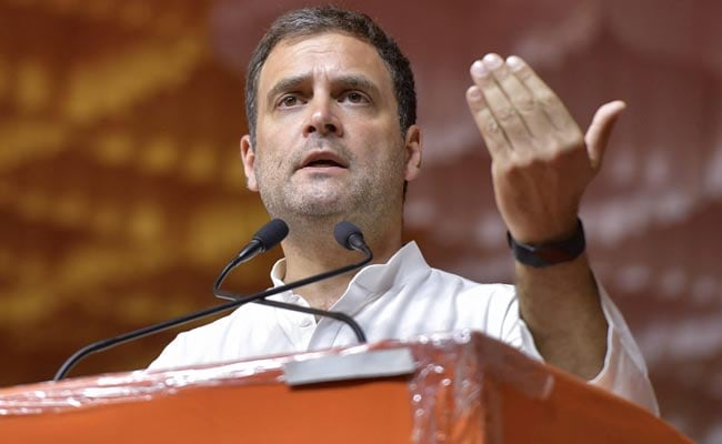 Farmers' Budget To Declare Minimum Support Prices: Rahul Gandhi