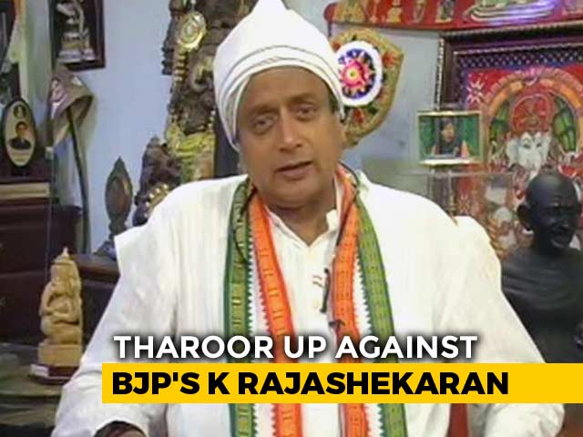 Video : BJP Won't Reach 200 Mark In The Elections: Shashi Tharoor To NDTV