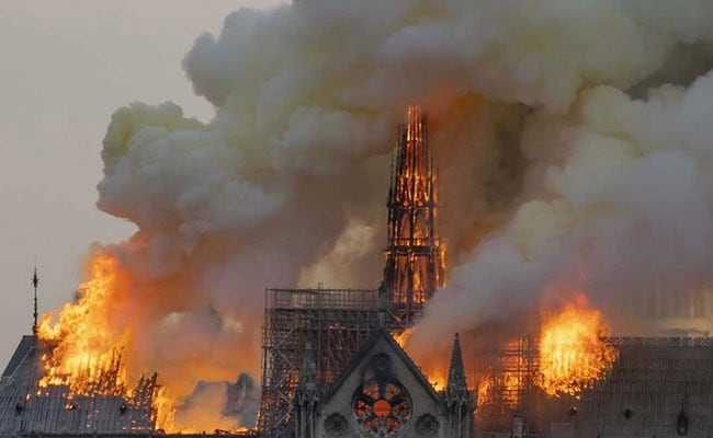 YouTube Fact-Checking Tool Sees 9/11 Tragedy In Flaming Notre-Dame