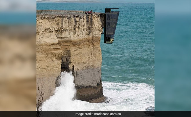 This Extraordinary Home Will Hang From A Cliff Side, Suspended Above Ocean