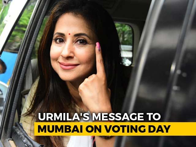 "Video : ""Excited, Not Scared"": Congress's Urmila Matondkar As Mumbai Votes"