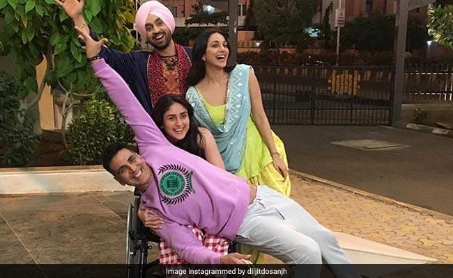Good News! 'Awesome Foursome' Kareena Kapoor, Akshay Kumar, Diljit Dosanjh, Kiara Advani Will Make You Smile