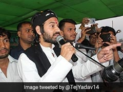 Tej Pratap Yadav Meets Father Lalu Yadav, Retracts Comment Against Leader