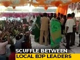 Video : BJP Workers Clash At Maharashtra Minister's Rally Over Candidate Change