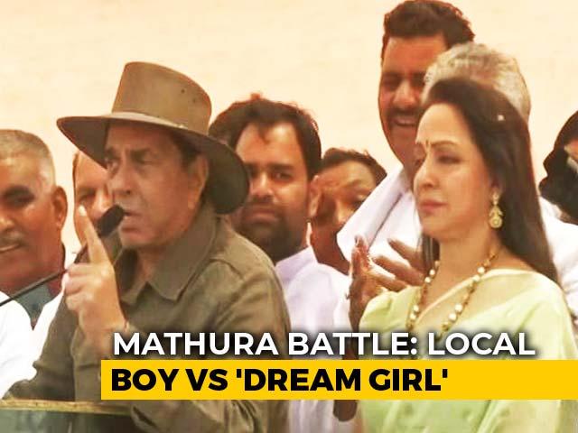 Mathura Battle: When Dharmendra Campaigned For Hema Malini