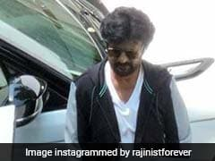 Seen These Viral Pics Of Rajinikanth From The Sets Of <i>Darbar</i>?