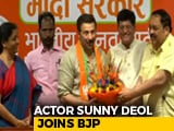 Video : Actor Sunny Deol Joins BJP