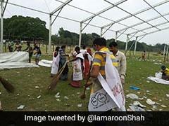 Day After PM's Mega Rally, BJP's 'Swachh Bharat' Drive At Kolkata Ground