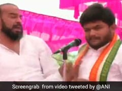 Congress Leader Hardik Patel Slapped At Gujarat Rally, Caught On Camera