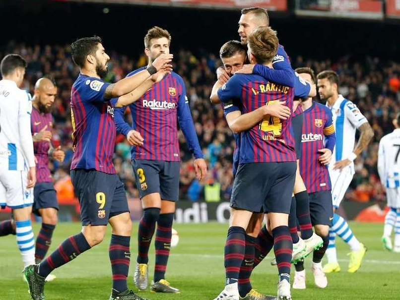 Barcelona On Cusp Of La Liga Triumph After Win Over Real Sociedad