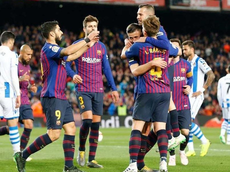 La Liga: আর মাত্র দুই ম্যাচ, চ্যাম্পিয়নশিপের কাছে বার্সেলোনা