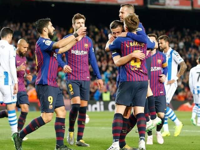 Barcelona On Cusp Of La Liga Triumph After Win Over Real Sociedad