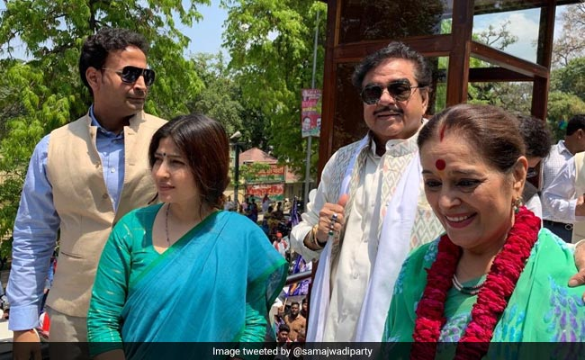 'A Husband's Duty': Shatrughan Sinha On Backing Wife At Samajwadi Rally