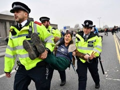 Nearly 300 Arrested In Climate Change Protests In London