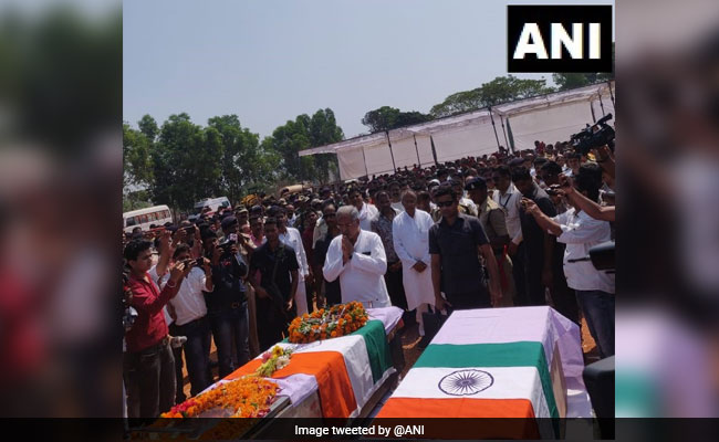 Bhupesh Baghel Pays Tribute To BJP Lawmaker, 4 Others Killed In Maoist Attack