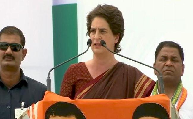 प्रियंका गांधी बोलीं- BJP वाले हैं नकली राष्ट्रवादी, जिसने हक मांगा उसे पीटा और देशद्रोही बता दिया