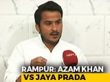 "Video : ""Justice Can't Be Lopsided"": Azam Khan's Son Reacts To Row Over Poll Campaign Remarks"