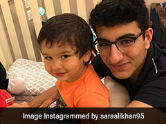 Eggcellent Easter: Sara Ali Khan's 'Bunnies' Taimur And Ibrahim Are Cuter Than You Can Imagine