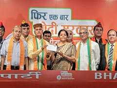 Elections 2019: 7 Army Veterans Join BJP, Welcomed By Nirmala Sitharaman