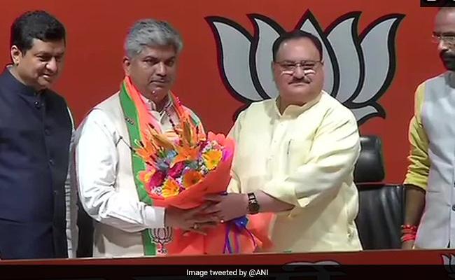 Ex-Congress Lawmaker Ananda Bhaskar Rapolu Joins BJP