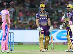 RR vs KKR: Ball Hits Stump But Bails Don