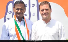 BJP Lawmaker Udit Raj, Dropped From Candidates' List, Joins Congress