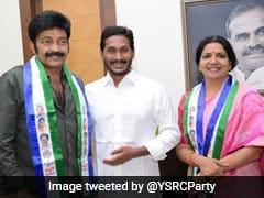 Actor Couple Jeevitha, Rajasekhar Return To YSR Congress