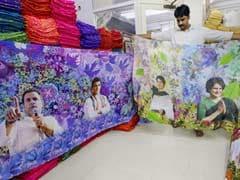 From Priyanka Gandhi Sarees To NaMo Caps, Parties Bet On Poll Merchandise