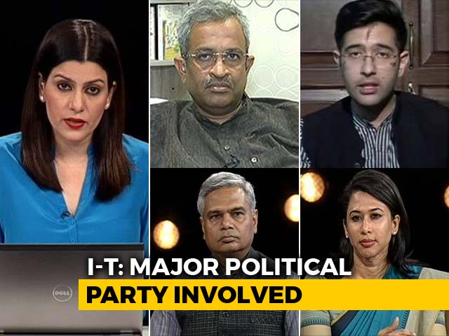 Video : Now, I-T Raids Against Congress: Impartial Or Intimidating Opposition?