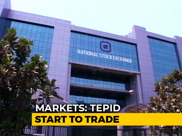 Video : Sensex, Nifty Little Changed Ahead Of RBI's Monetary Policy Decision