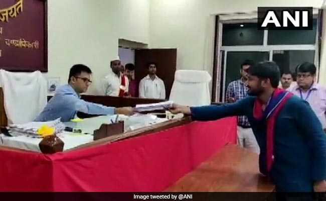 कन्हैया कुमार ने नामांकन के बाद पीएम पर साधा निशाना, कहा - बेगूसराय से हूं इसलिए मोदी से नहीं डरता
