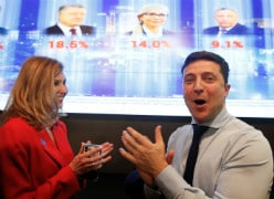 Comedian Takes Early Lead In Ukraine Presidential Vote: Exit Polls