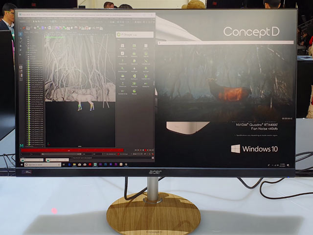 Video : Acer ConceptD Desktops, Laptops, Monitors First Look