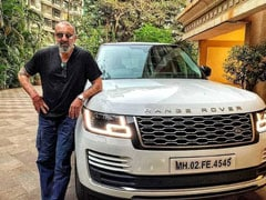 Actor Sanjay Dutt Brings Home New Range Rover