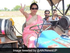 """Election 2019: Hema Malini On Photo Ops: """"Not The First Time I Sat On Tractor"""""""