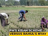 Video : In Race To The Finish, A Clash Of PM Modi's Kisan vs Rahul Gandhi's NYAY