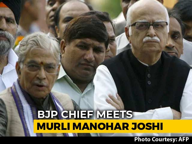Video : Amit Shah Meets Upset BJP Veterans LK Advani, Murli Manohar Joshi