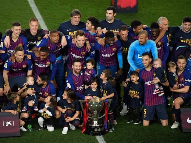 La Liga: Barcelona Win 26th Trophy With The Help Of Messi's 2nd Half Goal