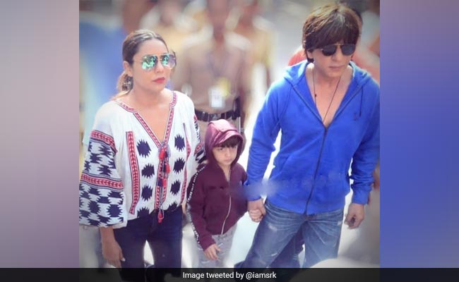 Shah Rukh Khan Reveals LOL Reason He Took Son AbRam, 5, To The Voting Booth