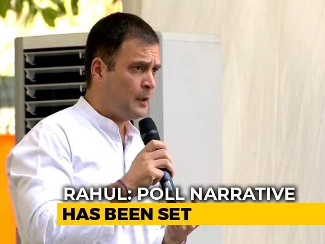 "Video : ""South Feels Hostility From Narendra Modi"": Rahul Gandhi's Wayanad Retort"