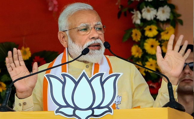 PM Modi's Mega Roadshow: Thousands of supporters greet Modi