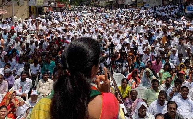 NCP's Supriya Sule Blasts BJP For 'Abandoning Development' At Poll Rally