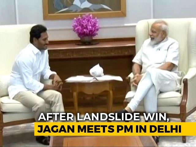 Video : Special Status, Finances Feature In PM-Jagan Reddy Discussions In Delhi
