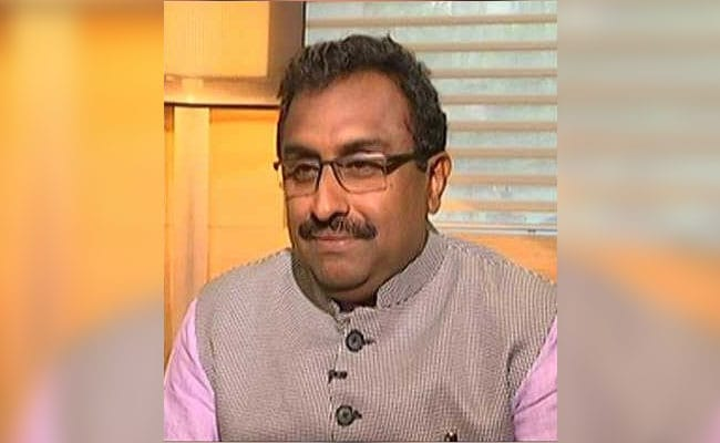 बीजेपी के राष्ट्रीय महासचिव राम माधव बोले- जम्मू कश्मीर में विधानसभा चुनाव के लिए हम तैयार