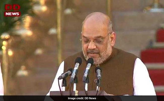 पीएम मोदी की नई कैबिनेट में मंत्री बने पार्टी अध्यक्ष अमित शाह